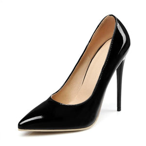 Pointed Toe Super Stiletto Heel  Thin Heel Shallow Mouth Wedding Shoes