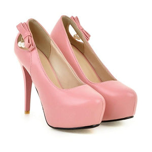 Stiletto Heel Super High Heels Size Wedding Shoes Women Platform Pumps
