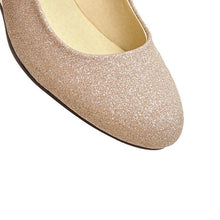 Load image into Gallery viewer, Girls Spring Autumn Wedges Sequins Shallow Mouth Woman's Pumps