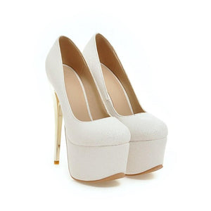 Sexy Nightclub Super Stiletto Heel  Stiletto Heel  Platform Pumps