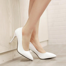 Load image into Gallery viewer, Sexy Pointed Toe Stiletto Heel  Stiletto Heel Women Pumps