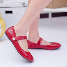 Load image into Gallery viewer, Girls Woman's Leisure School Flat Shoes