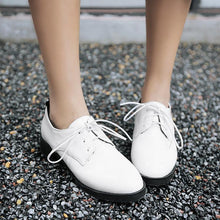 Load image into Gallery viewer, Woman's Casual Lace Up Low Heels Shoes