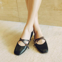 Load image into Gallery viewer, Girls Woman's Shallow-mouthed Flats Shoes