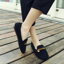 Load image into Gallery viewer, Girls Woman's Loafers Leisure Flats Shoes
