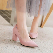 Load image into Gallery viewer, Pointed Toe Women High Heeled Pumps