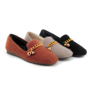 Girls Woman's Loafers Leisure Flats Shoes