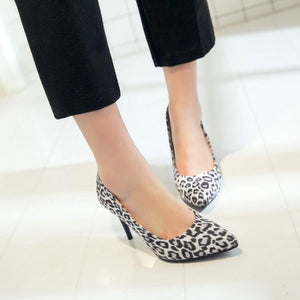 Sexy Thin Heel Super Stiletto Heel  Shallow Mouth Women Pumps