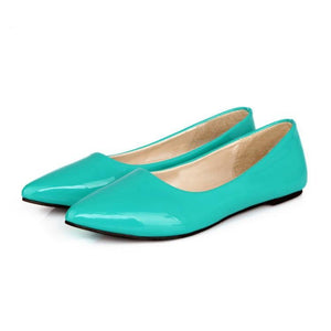 Girls Woman's Leisure Candy Color Flat Shoes
