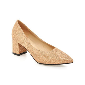 Shallow Mouth Pointed Toe High Heeleds Women Pumps