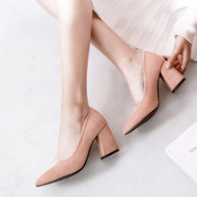 Load image into Gallery viewer, Pointed Toe High Heeled Women Pumps