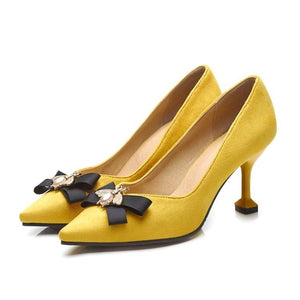 High Heel Shallow Mouth Women Pumps