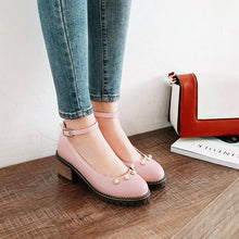 Load image into Gallery viewer, Women's Sweet Casual High Heel Chunkey Pumps Shoes