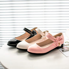 Load image into Gallery viewer, Woman's Sweet Bow Low Heels Shoes