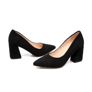 Pointed Toe High Heeled Women Pumps