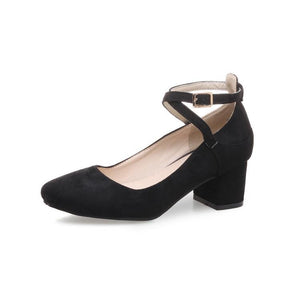Buckle Women's Chunkey Heeleded Pumps