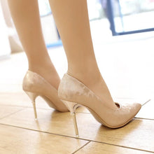 Load image into Gallery viewer, Sexy Pointed Toe Super High Heel Women Pumps