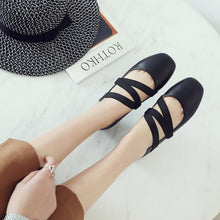 Load image into Gallery viewer, Girls Woman's Shallow Flat Shoes
