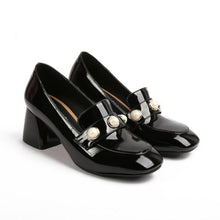 Load image into Gallery viewer, High Heeled Square Head Women Pumps