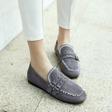 Load image into Gallery viewer, Girls Woman's Pregnant Shallow Mouth Flat Shoes