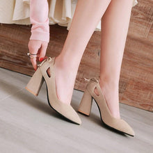 Load image into Gallery viewer, Woman's Pumps Pointed Toe High Heeled s
