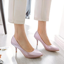Load image into Gallery viewer, Pointed Shallow Mouth High Heel Women Pumps