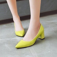 Load image into Gallery viewer, Pointed Toe Shallow Mouth Women Pumps