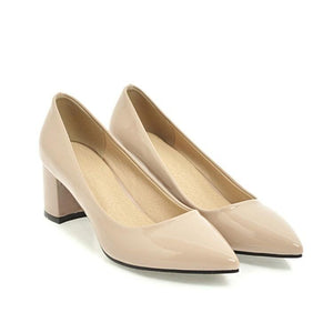 Pointed Toe Shallow Mouth Women Pumps