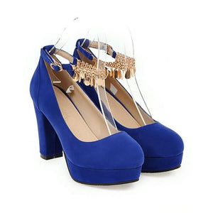 Woman's Platform Pumps Super High Heeled Large Size