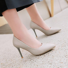 Load image into Gallery viewer, Sexy Pointed Toe Stiletto Heel  Shallow Mouth Pumps