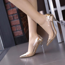 Load image into Gallery viewer, Women's Sexy Super High Heels Crystal Pumps