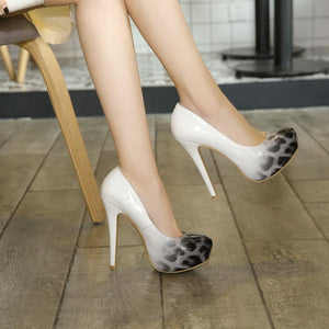Super Stiletto Heel  Nightclub Platform Pumps