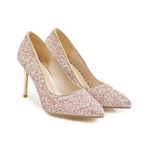 Load image into Gallery viewer, Sexy High Heel Pointed Toe Sequins Women Pumps