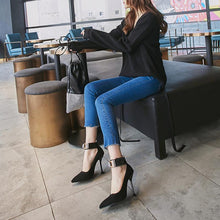Load image into Gallery viewer, Sexy Super Stiletto Heel  Super Size Women Pumps