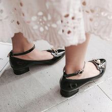 Load image into Gallery viewer, Woman Light-mouth Buckle Princess Shoes