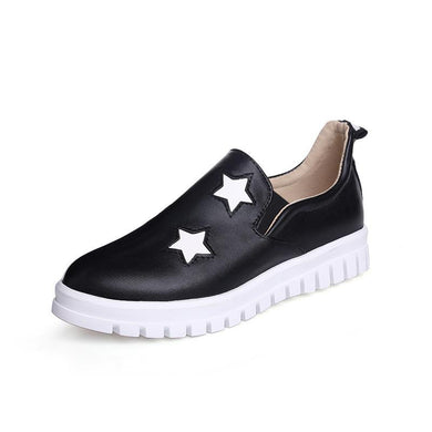 Girls Woman's Platform Flat Shoes