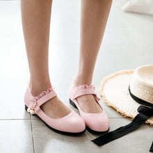 Load image into Gallery viewer, Woman Low Heels Princess Shoes