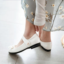 Load image into Gallery viewer, Woman Casual Low Heel Princess Shoes