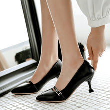 Load image into Gallery viewer, Women's High Heeled Shallow Mouth Stiletto Pumps