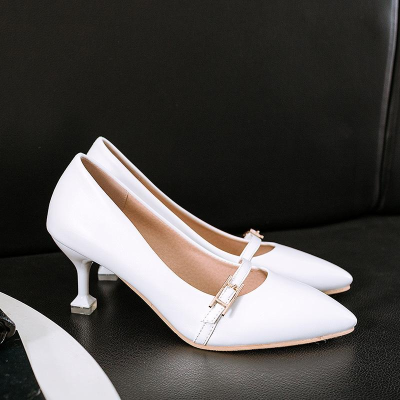 Women's High Heeled Shallow Mouth Stiletto Pumps