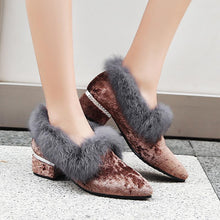 Load image into Gallery viewer, LadyLeisure Thick-heeled Woman Loafers Shoes