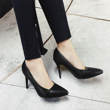 Load image into Gallery viewer, Sexy Super Stiletto Heel  Pointed Shallow Mouth Women Pumps