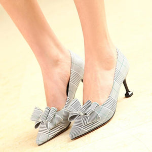Women's Knot High Heel Pumps