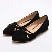 Load image into Gallery viewer, Girls Woman's Casual Suede Flat Shoes