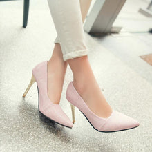 Load image into Gallery viewer, Bride's Wedding Shoes Super High Heel Pumps