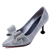 Load image into Gallery viewer, Women's Knot High Heel Pumps