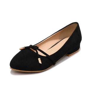 Girls Woman's Casual Suede Flat Shoes