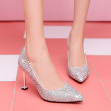 Load image into Gallery viewer, Women's Wedding Shoes High Heel Pumps