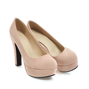 Women's Super High Heeled Platform Pumps
