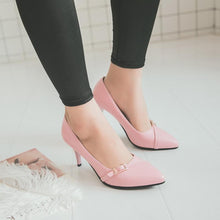Load image into Gallery viewer, Sexy Thin Heel High Heel Shallow Mouth Women Pumps